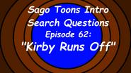 Kirby Runs Off Poster