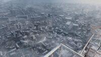 Вид на Москву с башни
