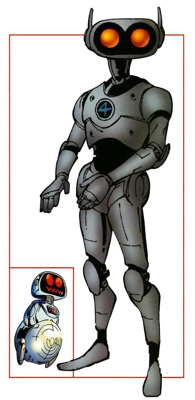 Highly Engineered Robot Built for Interdimensional Exploration (Ziemia-616)