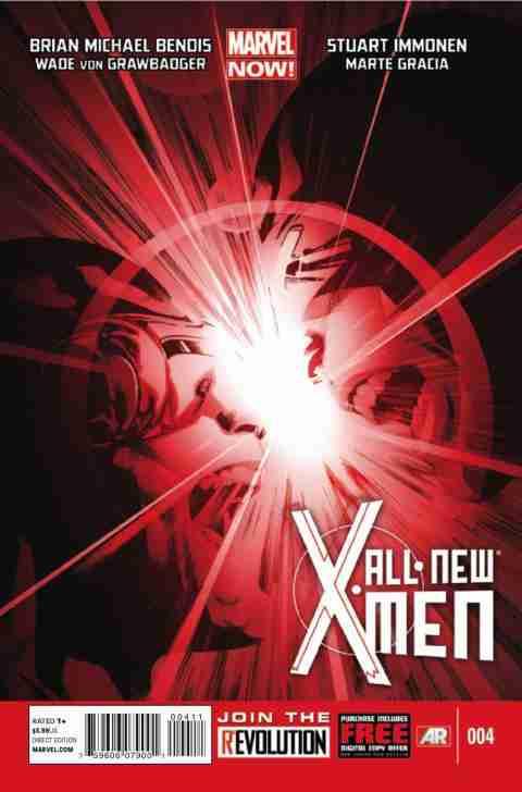 All-New X-Men Zeszyt 4