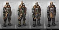 Ranger Outfit Concept Art