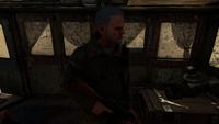 Мельник поручает задания экипажу на Каспии