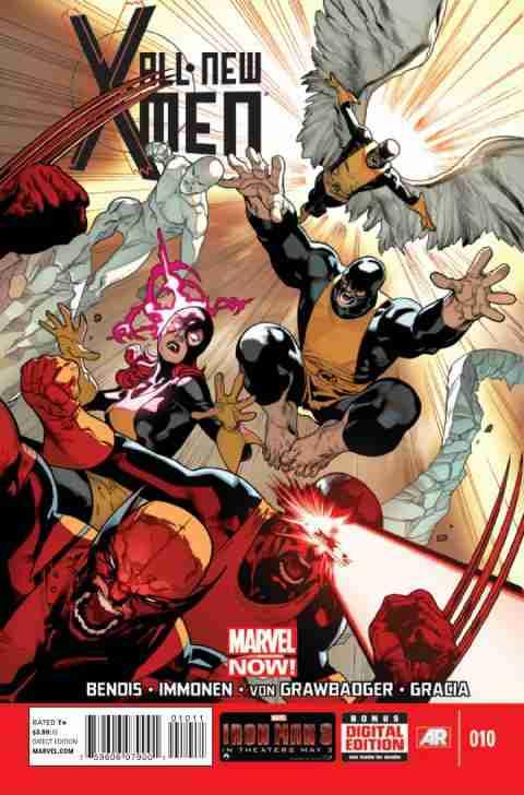 All-New X-Men Zeszyt 10