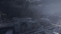 Вокзал Новосибирск 2035год
