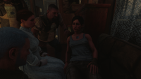 Анна рассказывает экипажу о своей болезни