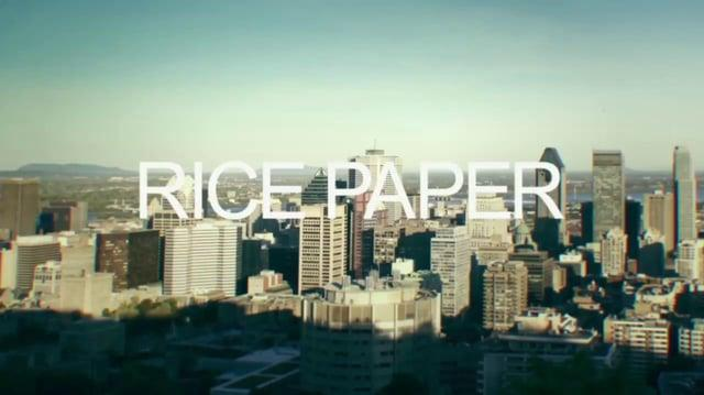 """RICE PAPER"" • DAVID USHER"
