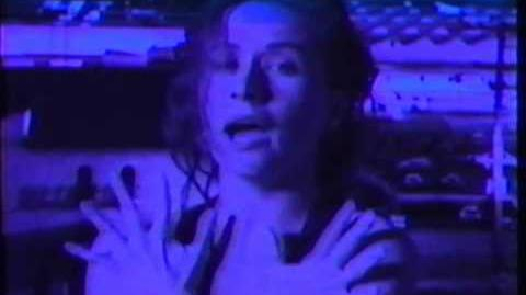 """Holding Onto The Earth"" by Sam Phillips (Music Video from The Indescribable Wow 1989)"