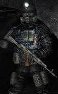 Солдат Рейха в Metro 2033