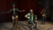 С танцовщицами