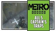 Metro Exodus Sam's Story All Captain's Trap Locations Trapper Trophy-3