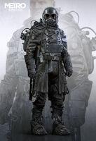 Miller Winter Suit Concept Art