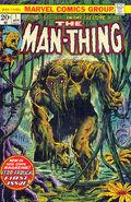 Man-Thing w komiksie