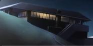 Dom rhodesow nocą