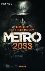 M2033 de cover taschenbuch