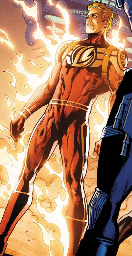 Human Torch / Android (Ziemia-616)
