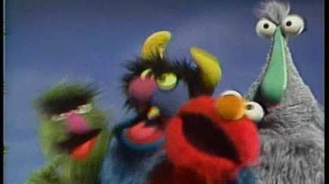 Classic Sesame Street We're All Monsters (with audience cheering track added)
