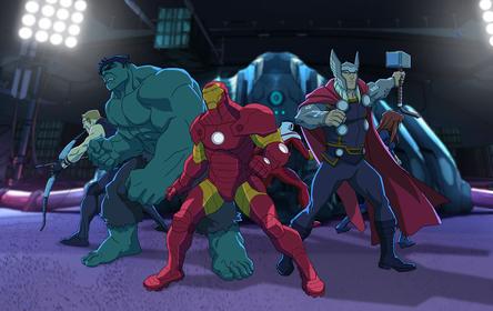Avengers: Zjednoczeni Sezon 1 1