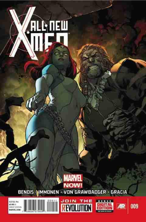 All-New X-Men Zeszyt 9