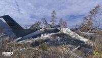 Упавший самолет - Волга - 1