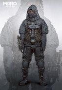 Spartan Stealth Suit Concept Art