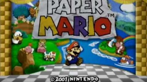 Paper Mario Music - Hey You! (Mini-Boss) EXTENDED
