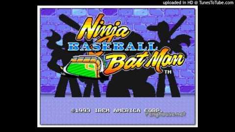 Ninja Baseball Bat man-boss