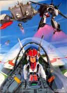 SDF-1 VF-1S VF-1A VF-1J Hikaru Ichijyo