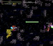 Choujikuu Yousai Macross - Scrambled Valkyrie Gameplay1