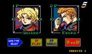 Macross II Arcade Player Select