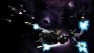 Skrull Squadron firing missiles