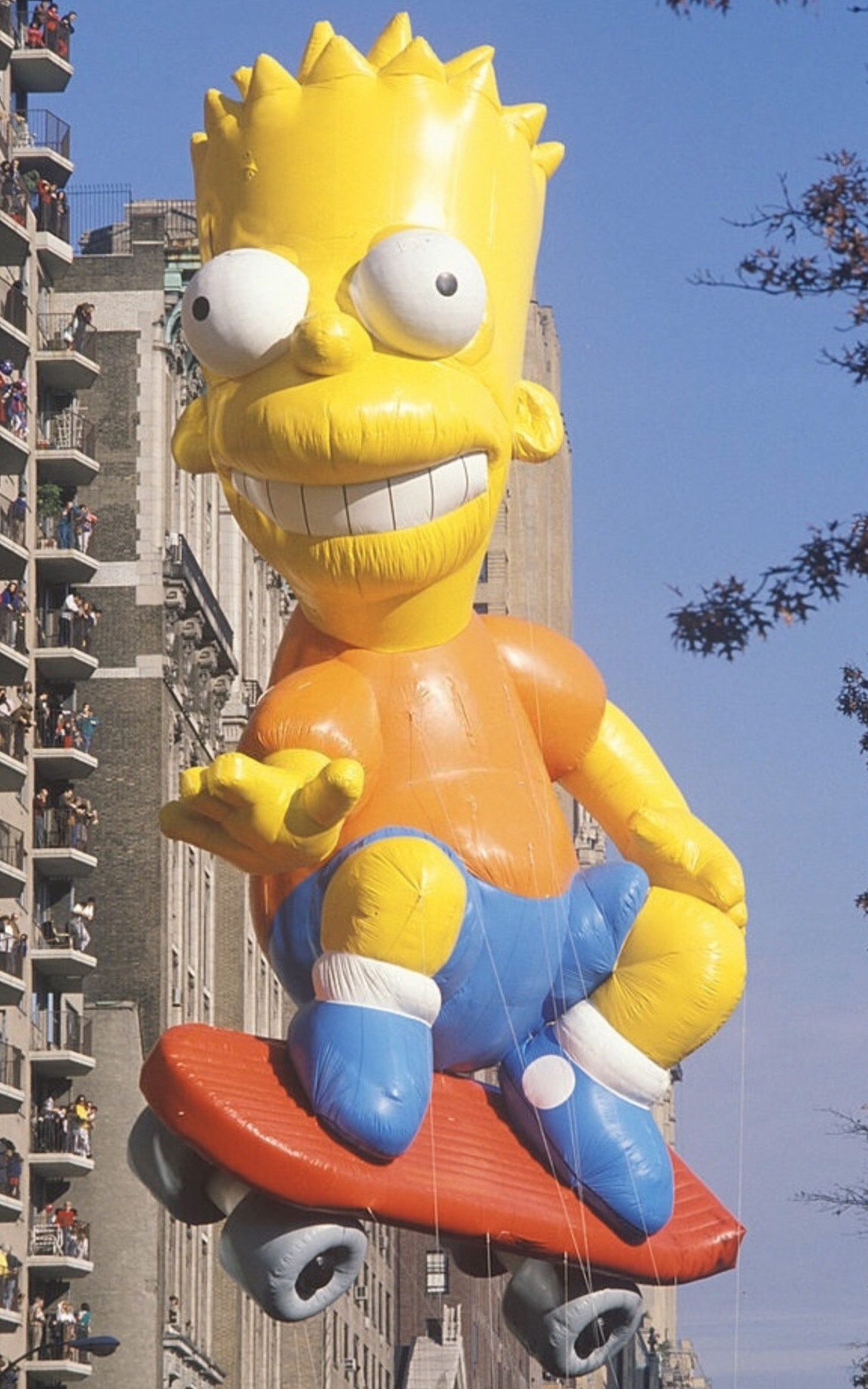 Bart Simpson Macy S Thanksgiving Day Parade Wiki Fandom