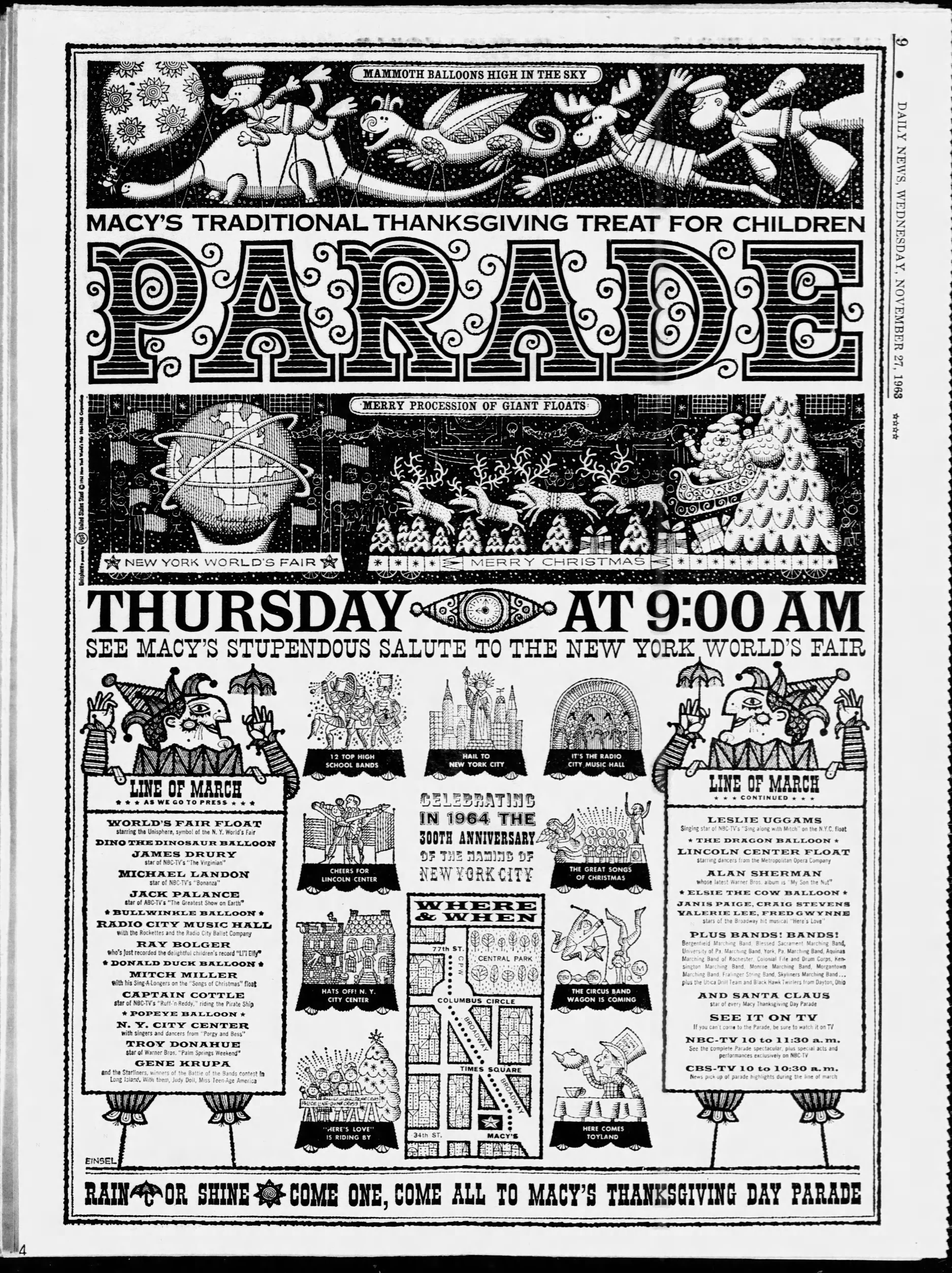 The 37th Annual Macy's Thanksgiving Day Parade