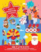 2018 Macy's Parade Poster