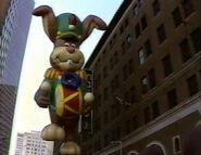 Quik Bunny Macy's Egleston Parade 1988