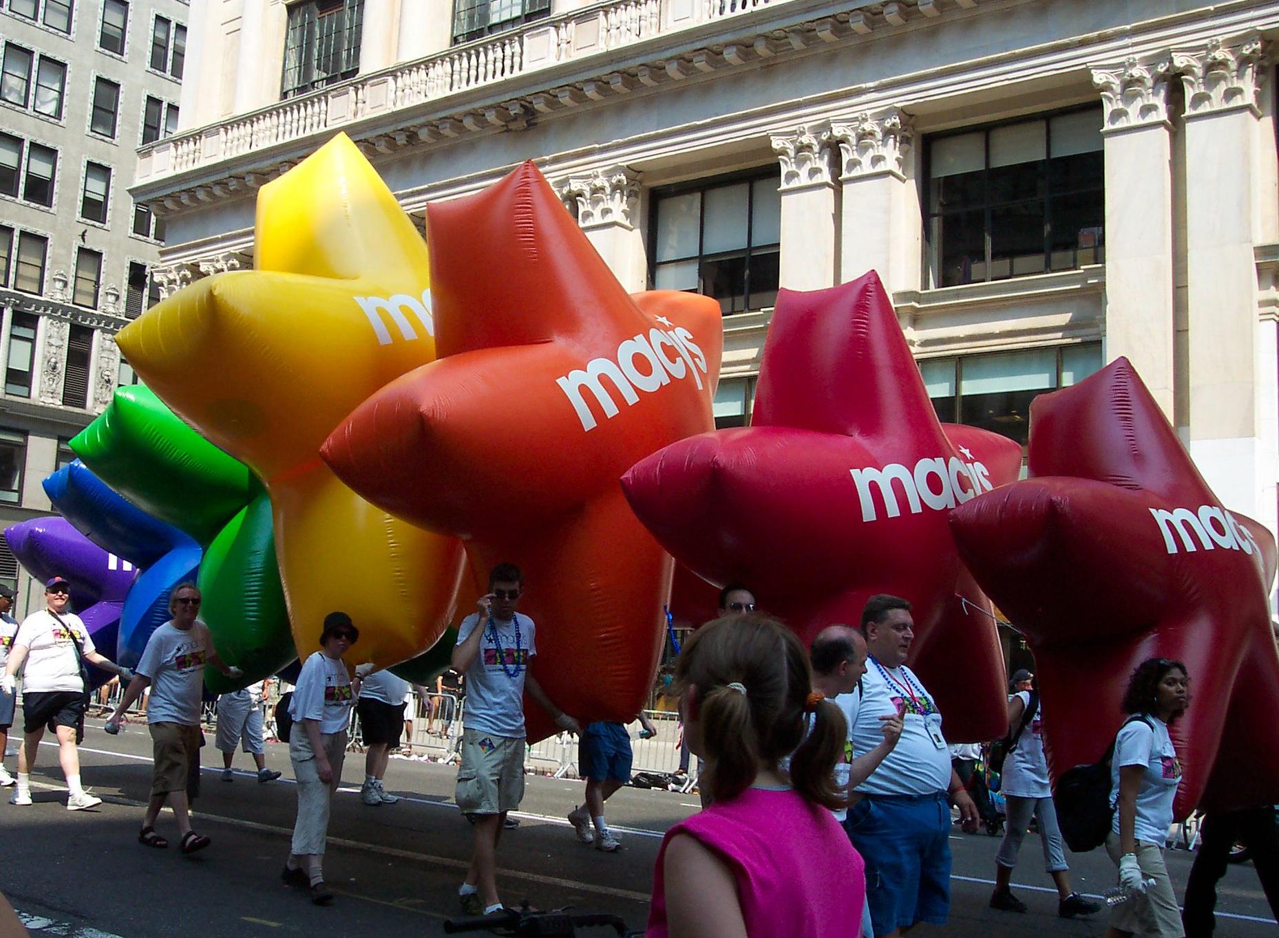 Macy's Pride Star Array