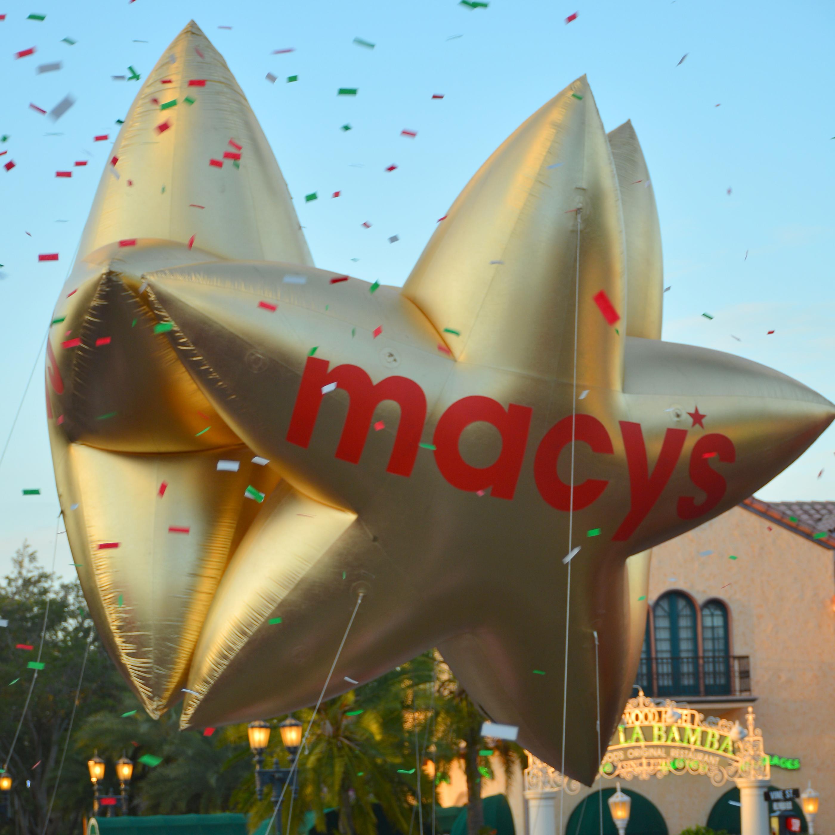 Gold Macy's Tri-Star