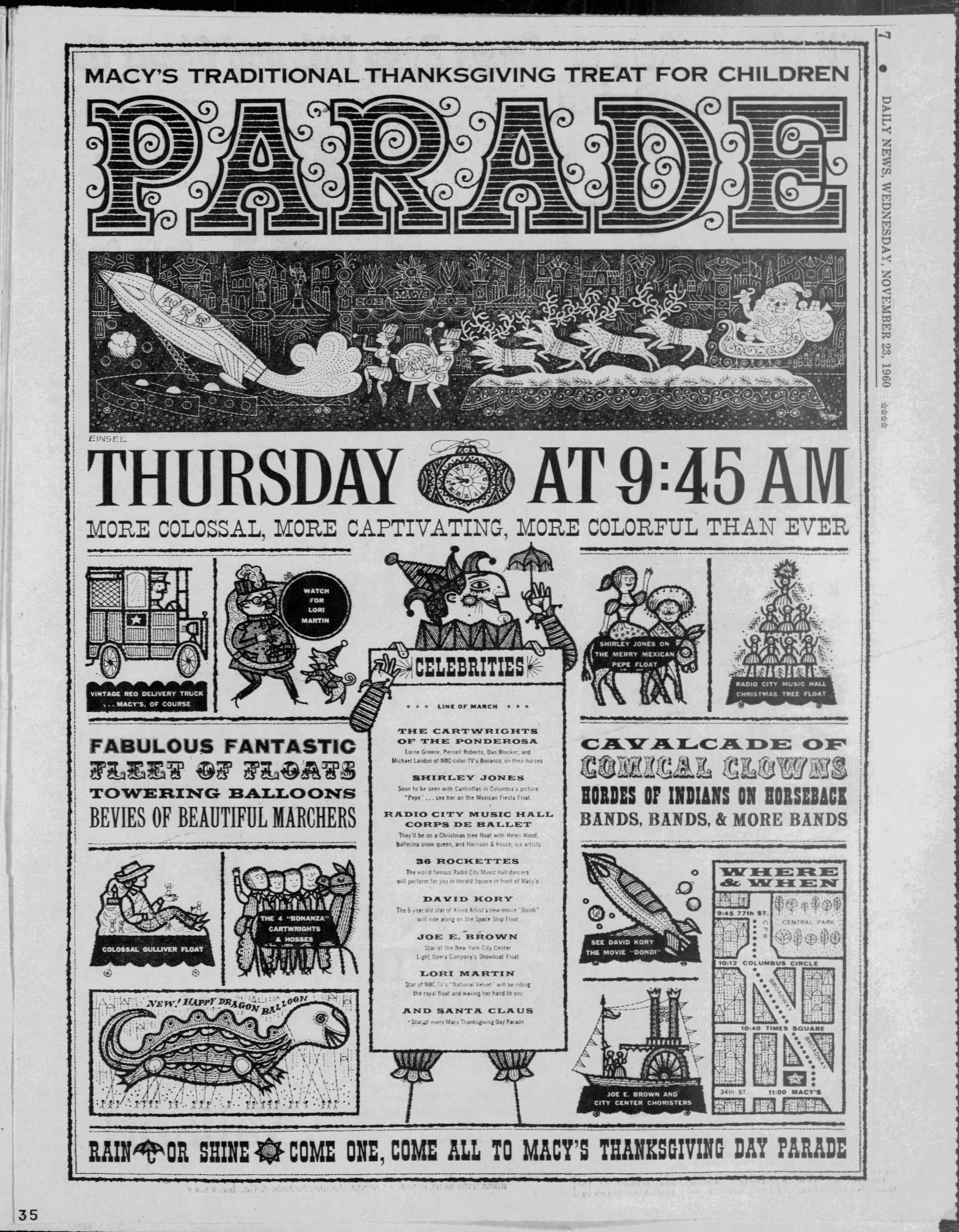 The 34th Annual Macy's Thanksgiving Day Parade