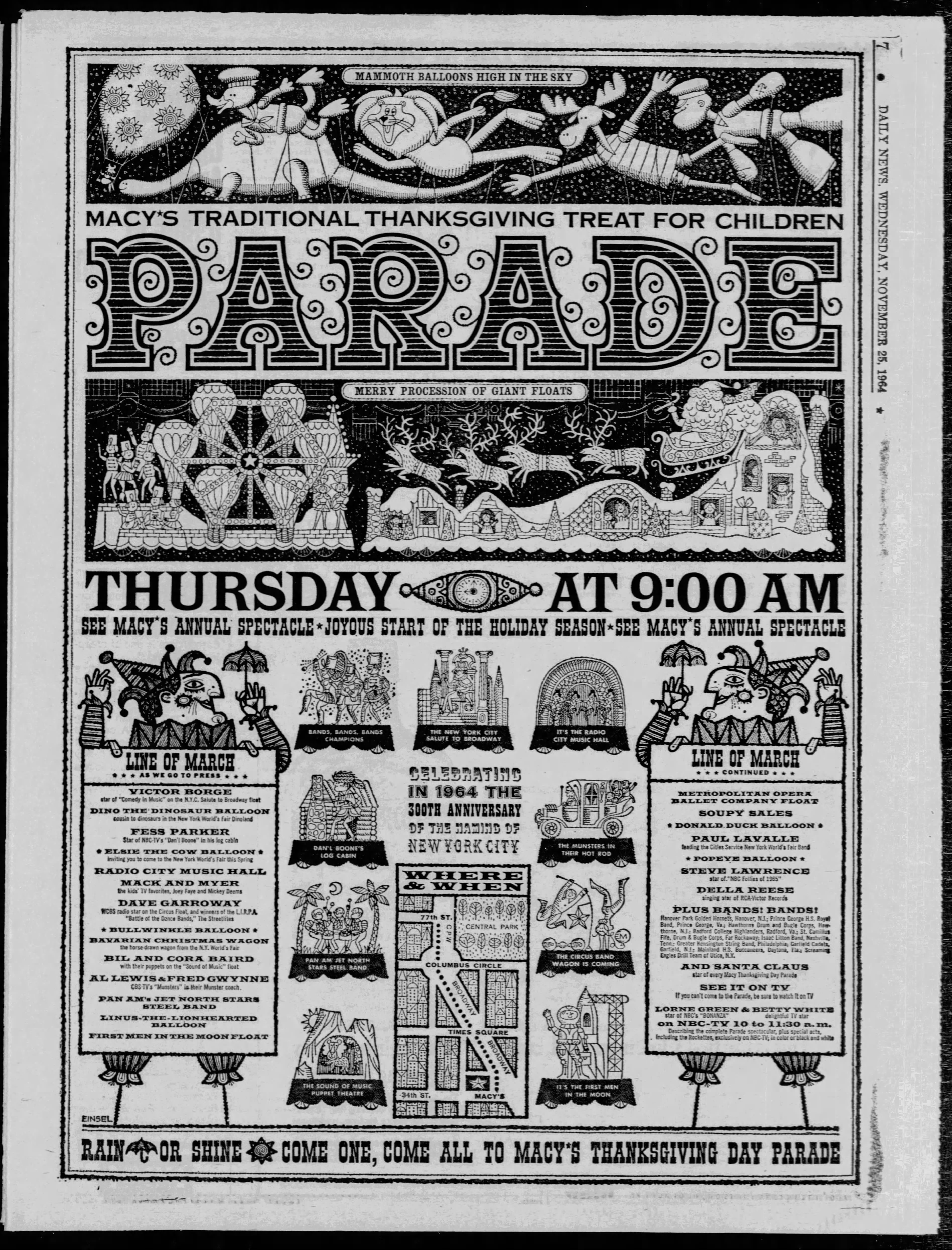 The 38th Annual Macy's Thanksgiving Day Parade