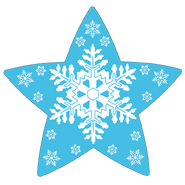 Blue Starflakes