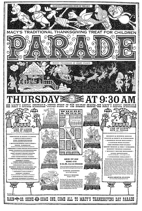 The 45th Annual Macy's Thanksgiving Day Parade