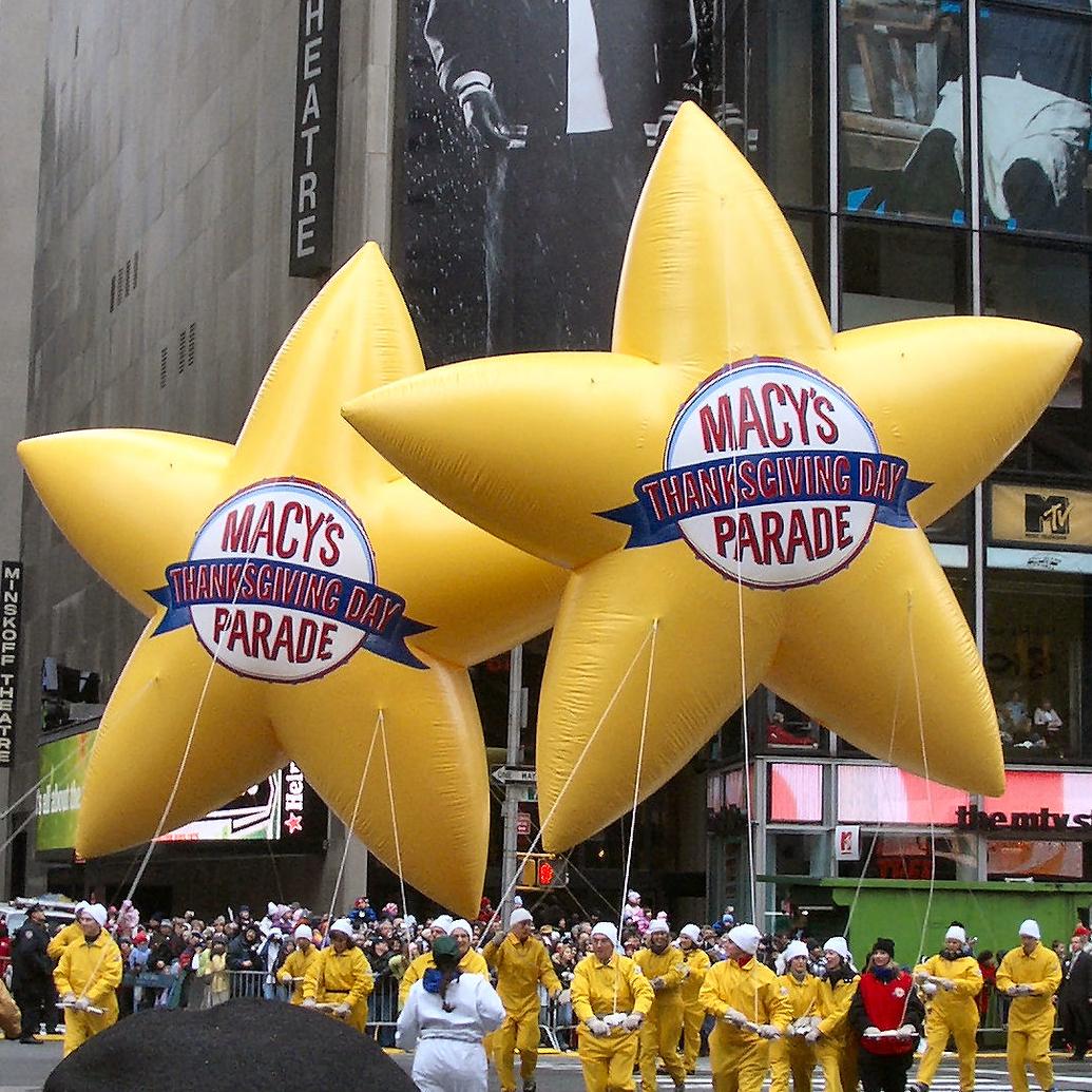 Macy's Thanksgiving Day Parade Stars
