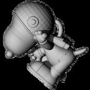 Astronaut snoopy model