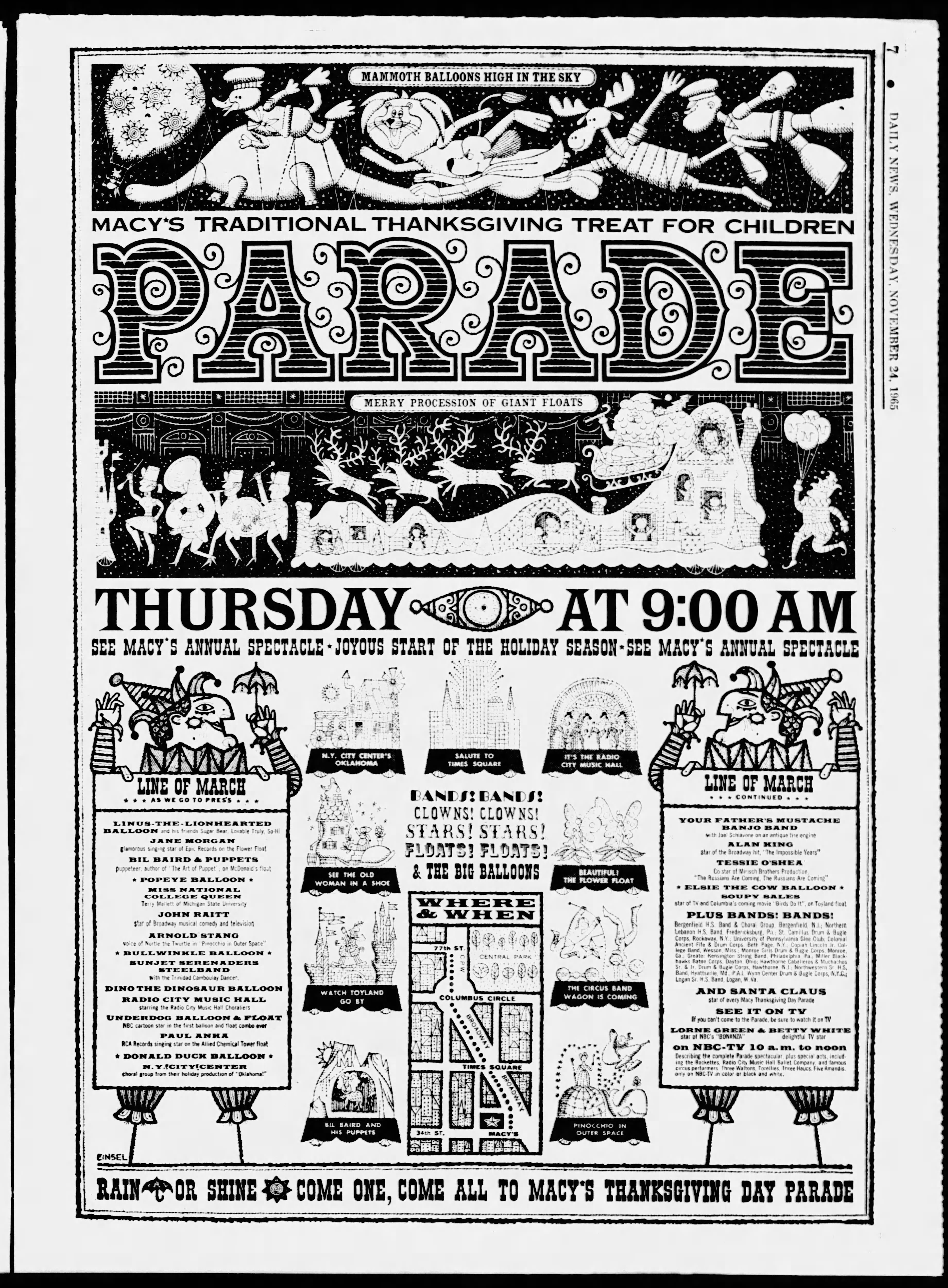 The 39th Annual Macy's Thanksgiving Day Parade