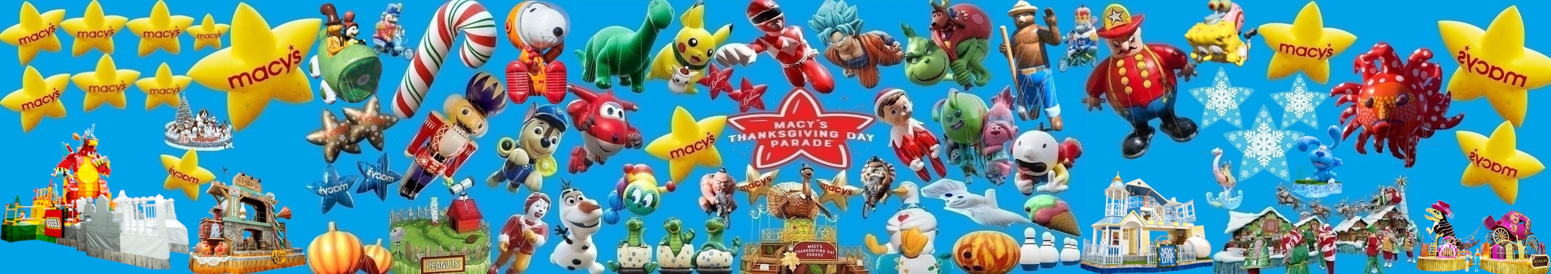 Apple idk/Fanmade Macy's parade banners I made