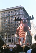 Bullwinkle in the 1972 parade