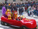 Big Red Shoe Car