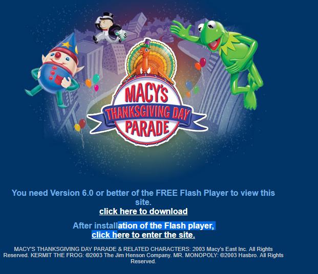 Apple idk/old parade website