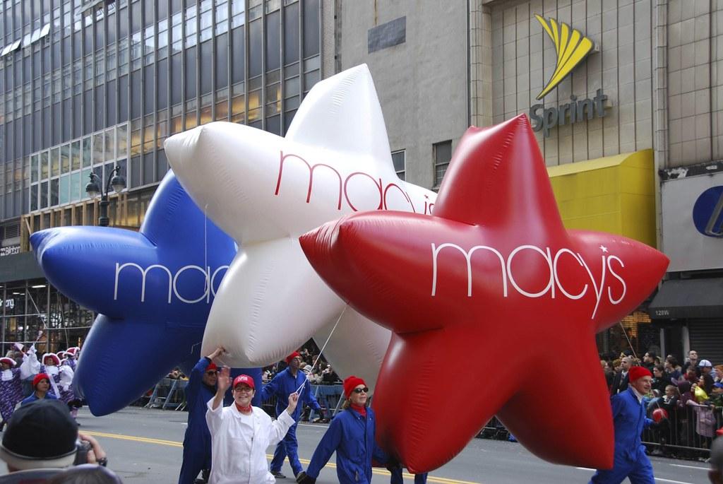Patriotic Macy's Star Array