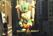 1990 Quik Bunny Balloon
