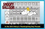 Snoopy and Woodstock Balloon sketch
